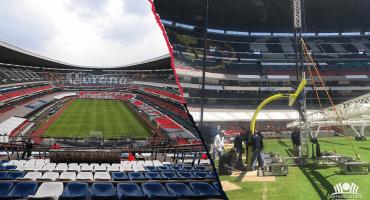 Cancha del Estadio Azteca está sin problemas para recibir a la NFL