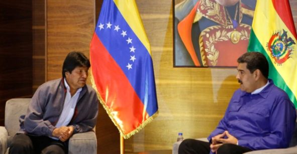 Así la reacción de Nicolás Maduro ante la renuncia de Evo Morales a la presidencia de Bolivia