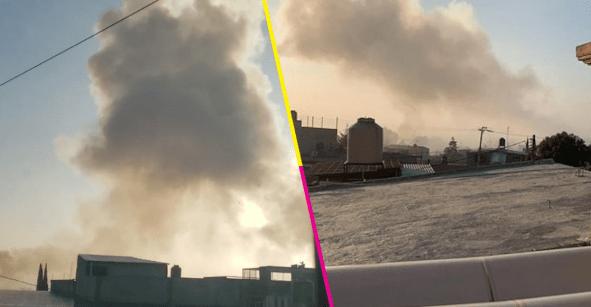 Explosión de taller clandestino de pirotecnia deja al menos 2 muertos en Tultepec