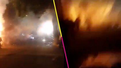 Explosión de pirotecnia en festividad de Xochimilco deja al menos ocho heridos