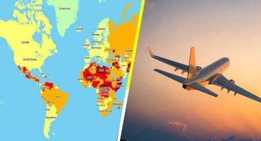 Estos son los países más peligrosos para viajar en 2020