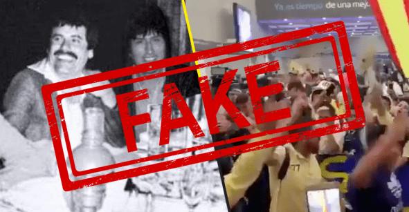 Fake News: Ni Evo estuvo con el Chapo, ni lo recibieron con porras en México