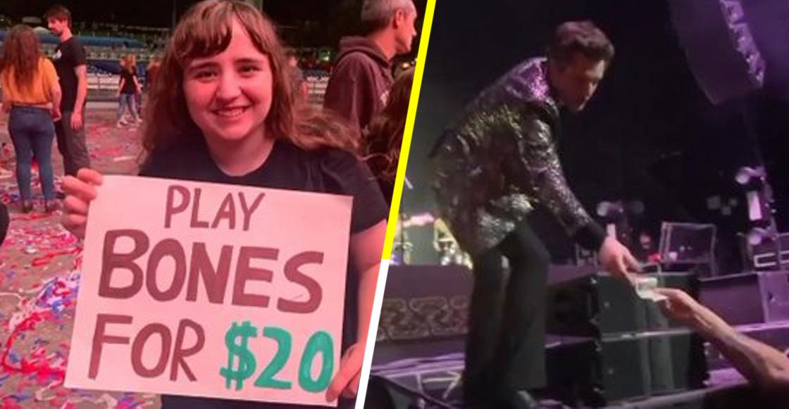 ¡Qué ofertón! Fan ofrece a Brandon Flowers 20 dólares por tocar