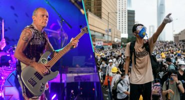 Flea, bajista de Red Hot Chili Peppers, quiere escuchar al pueblo de Chile, Hong Kong e Irán