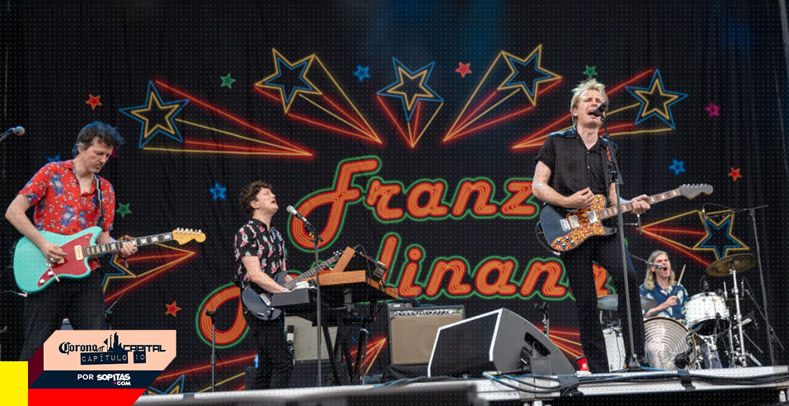 You say you don't know: Este es el posible setlist de Franz Ferdinand para el Corona Capital 2019