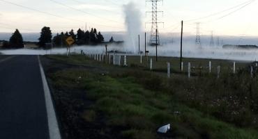 ¿Qué pasó con la fuga de hidrocarburo en ducto de Pemex en Ahuazotepec?