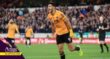 Raúl Jiménez sigue en modo 'killer' con su gol al Aston Villa