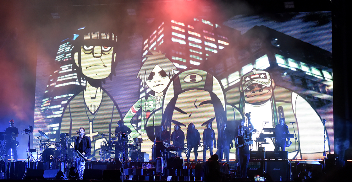 ¡Checa el teaser tráiler del nuevo documental de Gorillaz: 'Reject False Icons'!