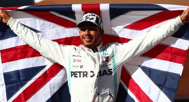 Lewis Hamilton se corona en el Gran Premio de Estados Unidos