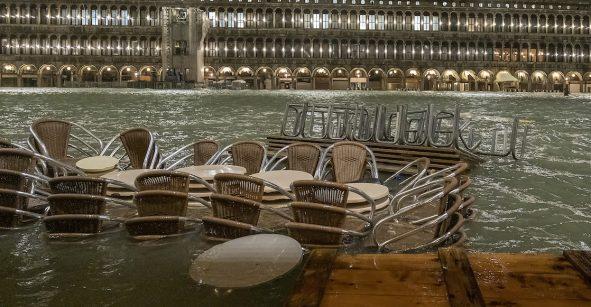 En imágenes: Venecia sufre su peor inundación en más de 50 años