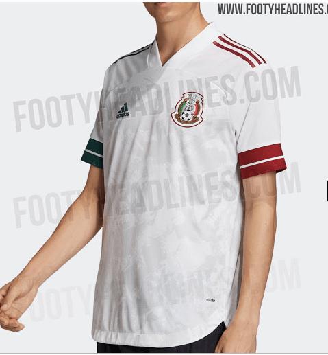 ¡Es bellísima! Esta sería la nueva playera de la Selección Mexicana para el 2020