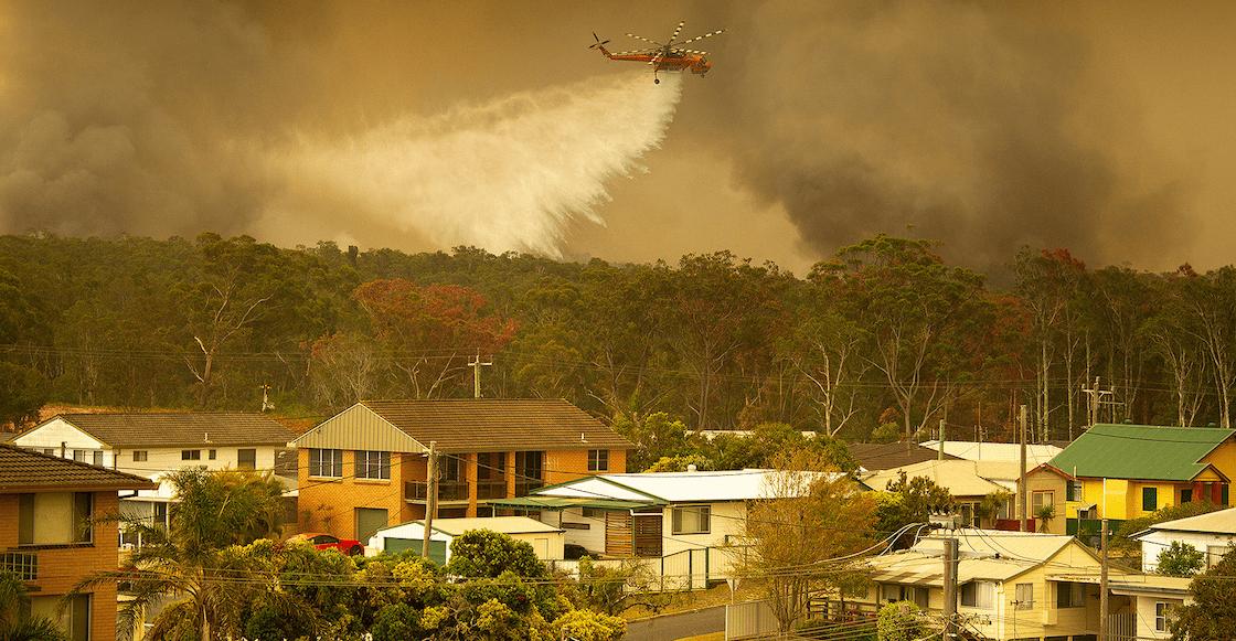 Declaran estado de emergencia por incendios — Australia