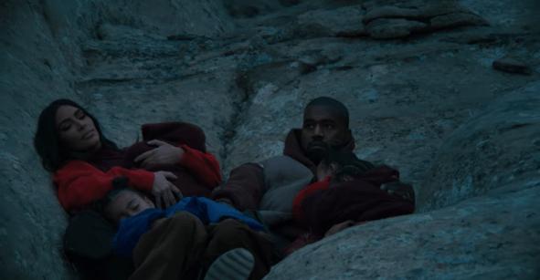 Kanye West recluta a toda su familia para el video de
