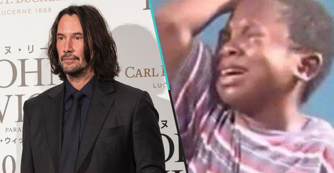 ¡Lo siento, humanidad! Keanu Reeves presentó a su novia en una alfombra roja