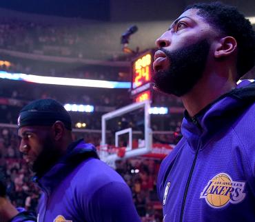 El explosivo arranque de los Power Lakers en la NBA