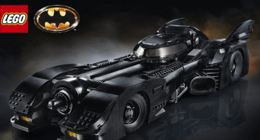 Una verdadera belleza: LEGO lanzará una réplica a escala del Batimóvil de Tim Burton