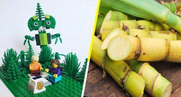 Lego se despide del plástico, innovando con bloques hechos de caña de azúcar