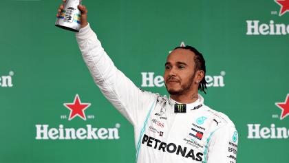Por sanción, bajan del podio a Lewis Hamilton en el Gran Premio de Brasil