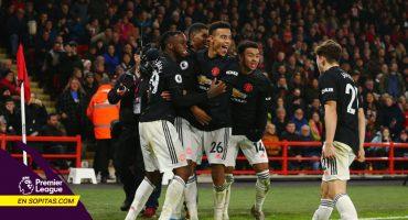 Lluvia de goles en el empate entre Manchester United y Sheffield