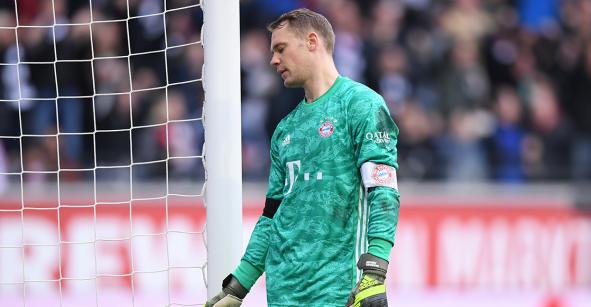 Las palabras de Neuer tras la humillación al Bayern Munich en Frankfurt