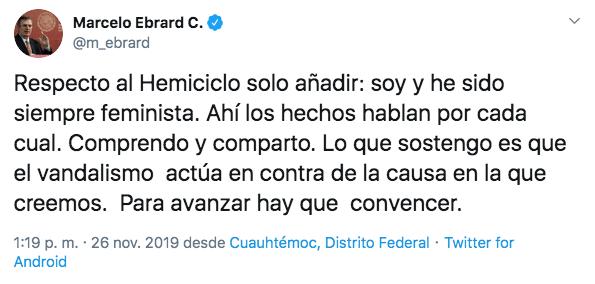 marcelo-ebrard-feminista-monumento-hemiciclo-juarez-tuiter-mensaje
