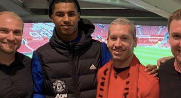 Rashford cumplió el sueño de un joven con cáncer que quería ver al Manchester United