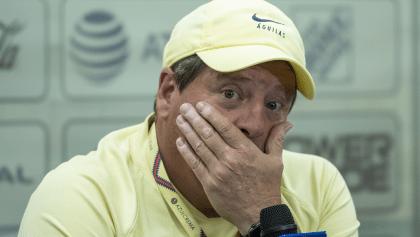 """Miguel 'Piojo' Herrera ya no mirará a árbitros y aclara """"visita"""" a Joao Maleck"""