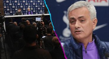 Mourinho en su presentación con Tottenham: