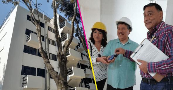 ¡Ya entregaron el primer edificio reconstruido del Multifamiliar Tlalpan!