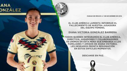 Falleció Diana Victoria González, jugadora del América Femenil que conquistó la Liga MX