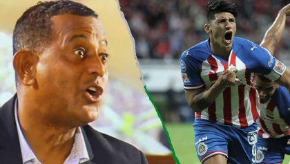 'Negro' Santos llamó 'tronco' a Pulido por ser campeón de goleo con