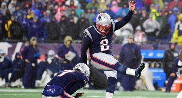 Patriots doblegan a Dallas en una noche para los pateadores y sólo un touchdown