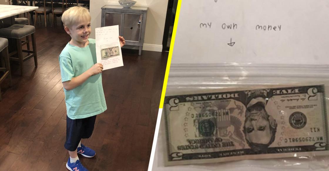 """Sí estamos llorando: Niño le regala su dinero de cumpleaños a su maestra para darle un """"aumento de sueldo"""""""