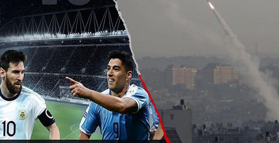 Bombardeo de misiles en Israel pone en duda el Uruguay vs Argentina