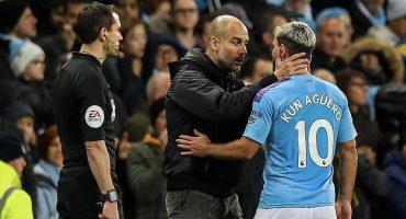 Pep Guardiola confirmó la lesión del 'Kun' Agüero y su tiempo de baja
