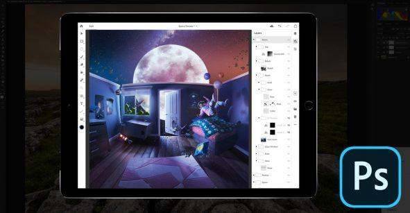 La espera terminó: ¡Photoshop llega oficialmente al iPad!