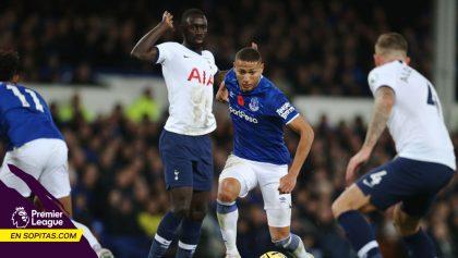 Everton le sacó el empate al Tottenham al 97 y suman cuatro juegos sin ganar