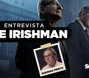 Platicamos con Rodrigo Prieto, cinefotógrafo mexicano, sobre 'The Irishman'