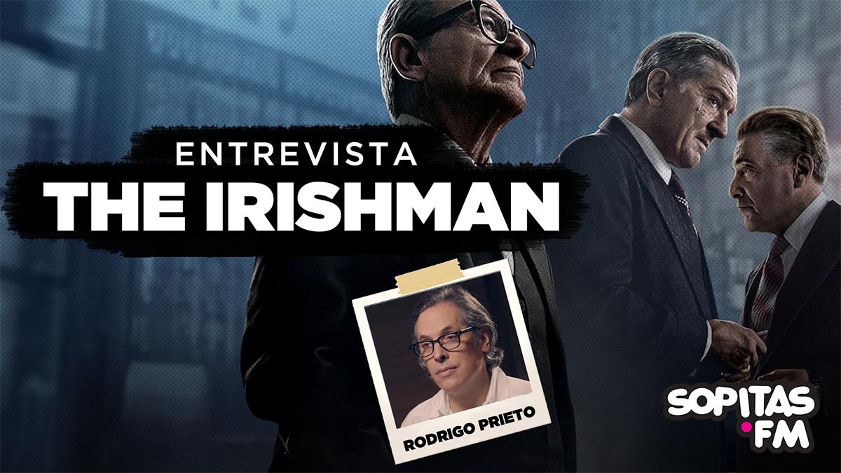 Platicamos con Rodrigo Prieto por 'The Irishman'
