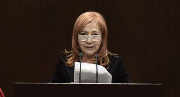 A buena hora... Rosario Piedra pide licencia en Morena para dedicarse a CNDH