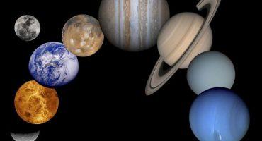 Esta animación muestra la rotación de los planetas del sistema solar