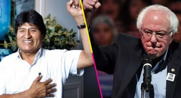Evo agradece declaraciones de Bernie Sanders a Jorge Ramos: