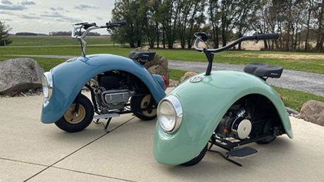 El invento del siglo: ¡Alguien creó scooters con partes de vocho y necesitamos uno!