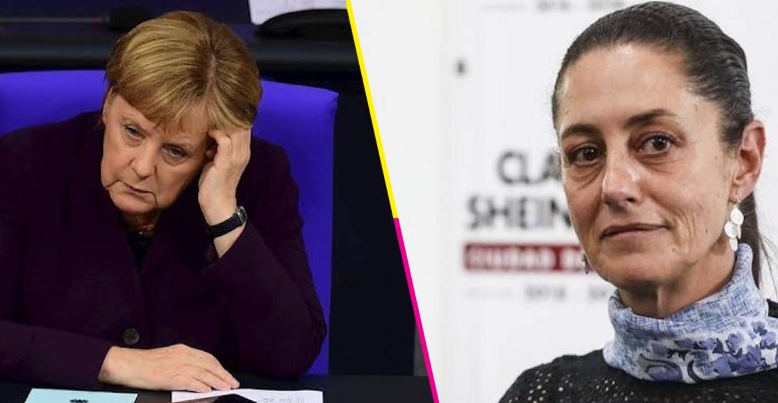 Sheinbaum cita a tuitera para comparar a Evo Morales con Angela Merkel