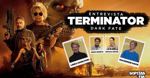 Platicamos con el elenco principal de 'Terminator: Dark Fate' sobre el regreso de Sarah Connor y James Cameron