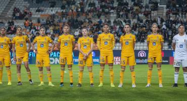 Tigres femenil golea a Pachuca y se convierte en el primer finalista ante 33 mil aficionados