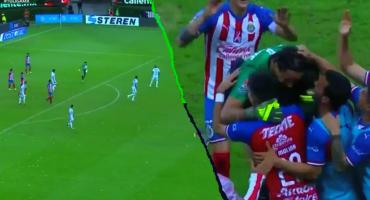 Chivas le gana al Veracruz con gol de Toño Rodríguez de portería a portería y doblete de Pulido