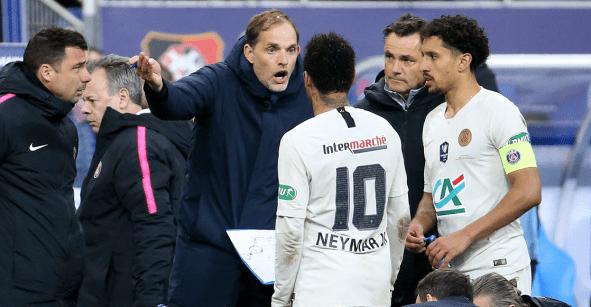 El coraje de Tuchel con Neymar por irse a la Copa Davis a Madrid