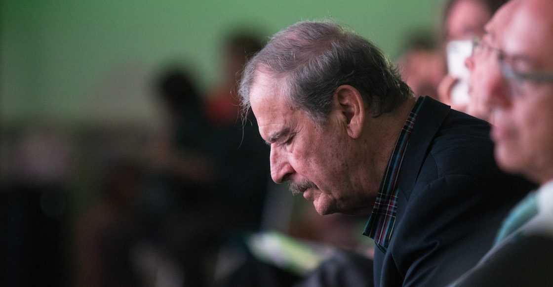 """¿Quién le explica? Vicente Fox utilizó la palabra """"autista"""" como insulto contra AMLO"""