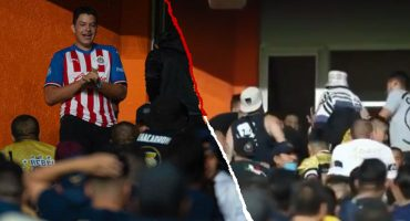Fanático de Chivas fue golpeado por 'La Rebel' en el Pachuca vs  Pumas
